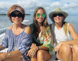 Boca Grande and Englewood women's day out on the water!