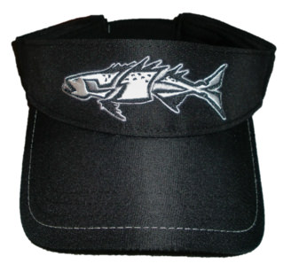 FIX embroidered black visor.
