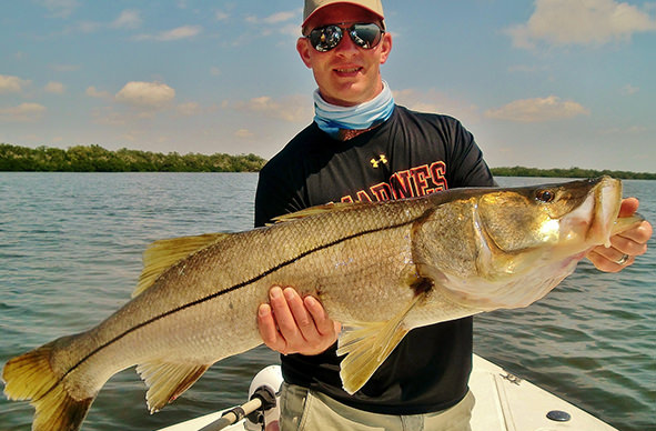 Boca Grande and Englewood inshore fishing charter photos.