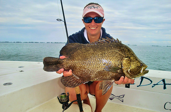 Boca Grande and Englewood nearshore fishing charter photos.